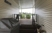 WALKWAY TO BACK PATIO & SHED