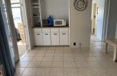 Family room adjoins kitchen