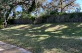 Back Yard- perimeter lot