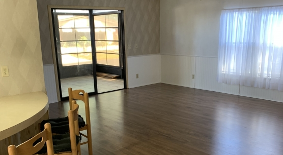 Living Room access to Lanai thru slider doors